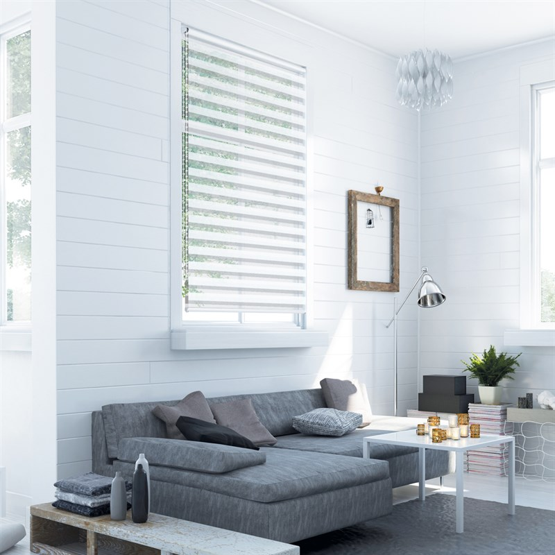 duo rollo klemmfix seitenzug wei 90 x 150 cm ecd germany. Black Bedroom Furniture Sets. Home Design Ideas
