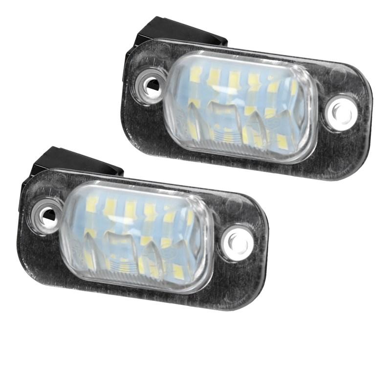 Do!LED I05 LED Kennzeichenbeleuchtung mit E-Pr/üfzeichen Xenon Optik