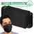 10 Stück Atemschutzmaske Baumwolle Schwarz
