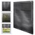 Aluminium Jalousie 110x175 cm, Schwarz, inkl. Montagematerial
