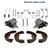 Bremsbacken + Radbremszylinder+ Zubehör Opel