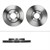 Bremsscheiben + Bremsbeläge + BR vorne VW Polo