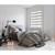 Duo Rollo Klemmfix Weiß-Beige-Braun 70 x 230 cm