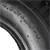 Reifen Decke Mantel Schlauch 4.80/4.00-8 400 mm, aus Gummi / Kautschuk, 4 BAR, bis 120 kg
