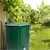 Regentonne faltbar 500 L mit Hahn 80x98 cm aus PVC Grün