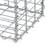 Gabione 100x90x30 cm, aus galvanisch verzinktem Stahldraht