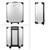 Aluminium Werkzeugkoffer 949 Teilig, Silber, mit 4 Ebenen, Chrom-Vanadium