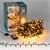 Weihnachtsbaumschmuck LED Lichterkette für Weihnachten 16m warmweiß mit 800 LEDs