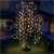 Trauerweide 190x120 cm warmweiß mit 400 LEDs aus Metall und Kunststoff