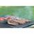 Grillrost Edelstahl mit Griffen 67 x 40 cm