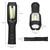 LED-Akku-Handleuchte Griff 180° knickbar