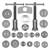 Bremskolbenrücksteller Set 22 Teilig mit Adapter VW