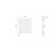 Designlheizkörper Stella 630 x 590 mm Anthrazit Seitenanschluss