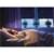 Verdunkelungsrollo Klemmfix 100 x 150 cm Blau mit Sterne