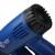 Elektrische Heißluftpistole 2000W, mit 2 Temperaturregelung, inkl. Zubehör