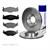 Bremsscheiben + Bremsbelagsatz Seat VW