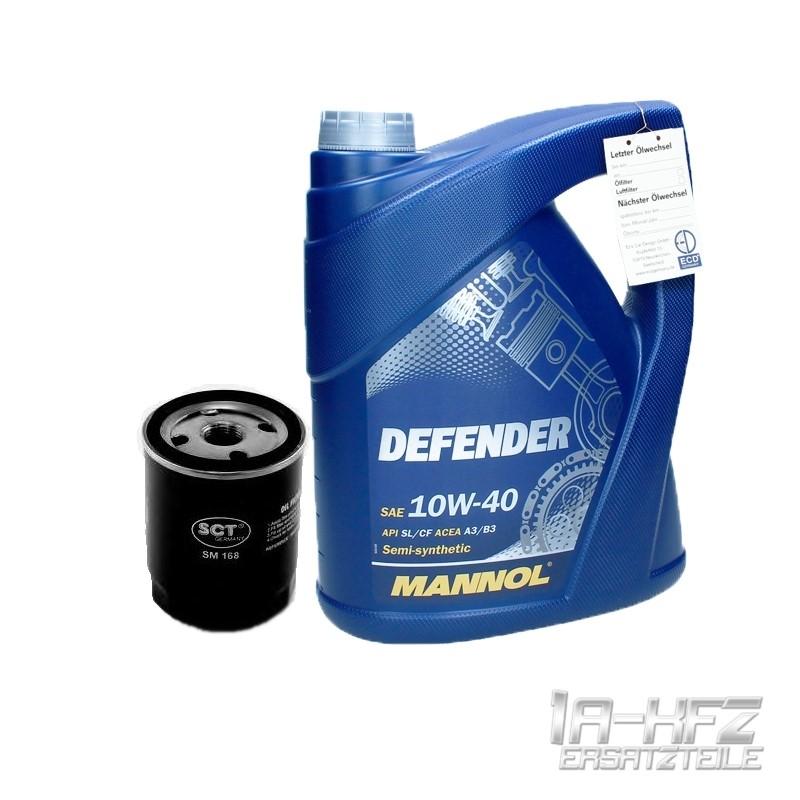 5l mannol defender motor l sae 10w40 lfilter. Black Bedroom Furniture Sets. Home Design Ideas