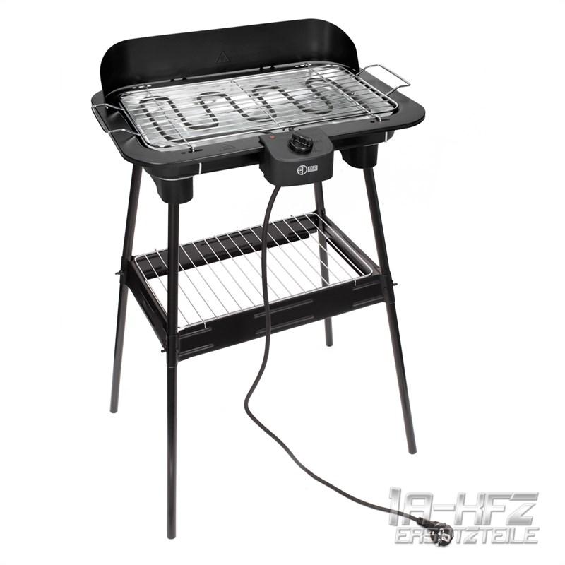 Bistecchiera barbecue grill griglia elettrico 2200w da tavolo nuovo con supporto ebay - Barbecue a gas da tavolo ...
