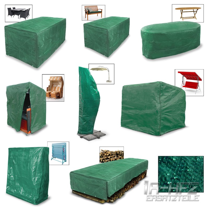 schutzh lle abdeckung regenschutzf r gartenm bel abdeckhaube abdeckplane haube ebay. Black Bedroom Furniture Sets. Home Design Ideas