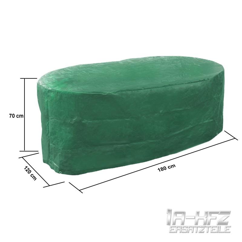 housse de protection table de jardin ovale 70x180x120 cm. Black Bedroom Furniture Sets. Home Design Ideas