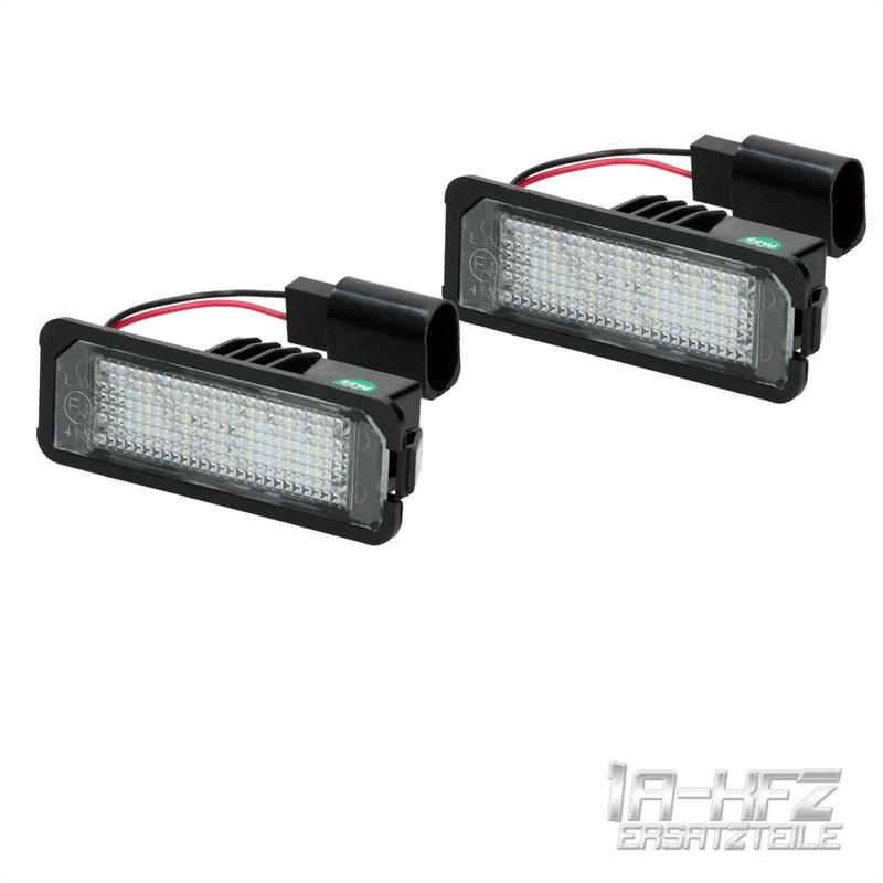 LED Kennzeichenbeleuchtung Kennzeichen Leuchte für VW Golf 4 5 6 7 ...