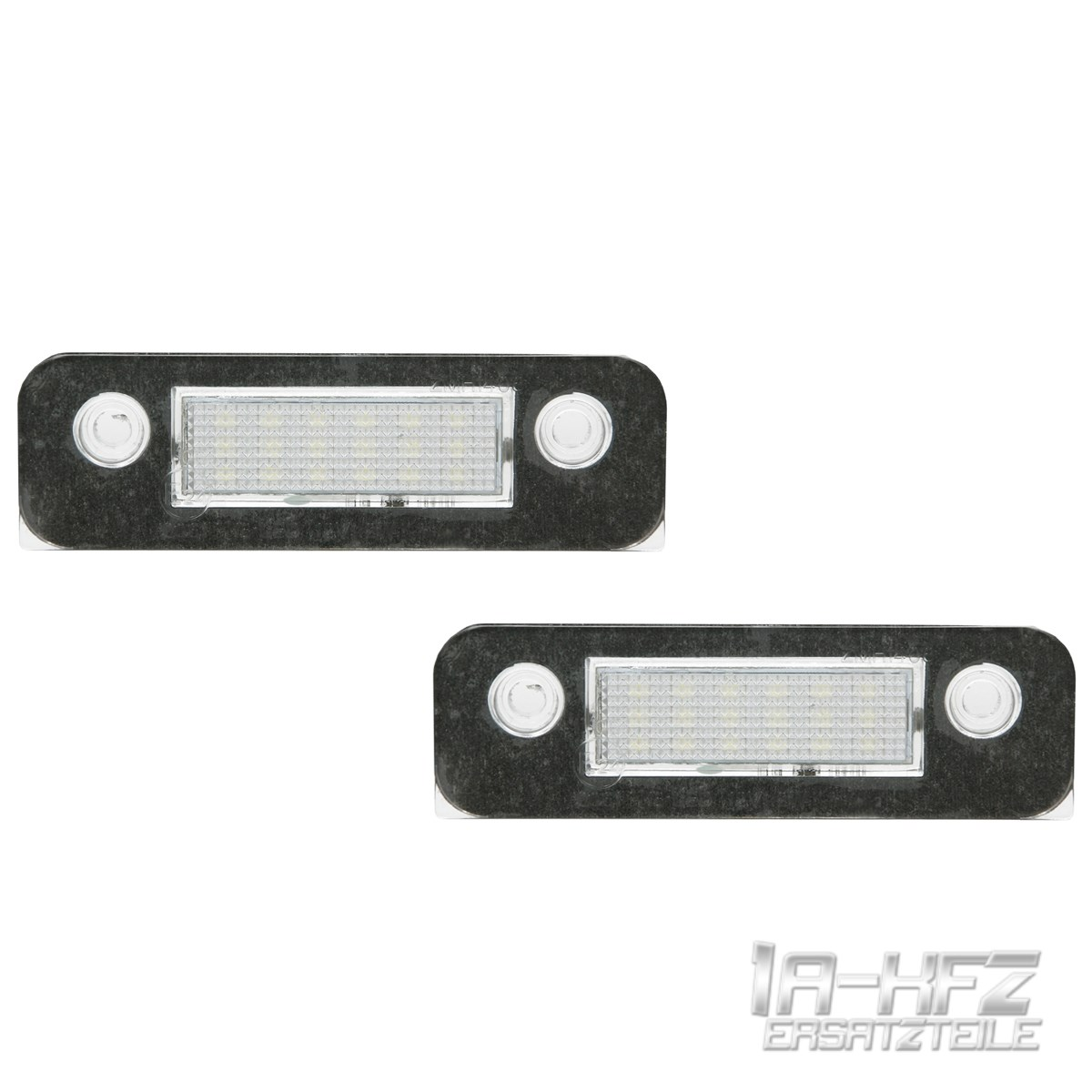 Details zu Set 2x LED license plate light for Ford Mondeo II Mk2 1.6 2.5 Fusion JU Fiesta V