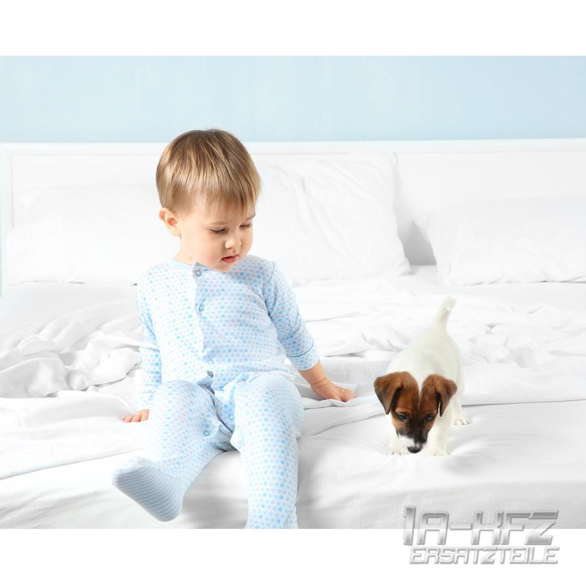 matratzenschoner matratzenschutz bettbezug betteinlage wasserdicht 140 x 200 cm ebay. Black Bedroom Furniture Sets. Home Design Ideas