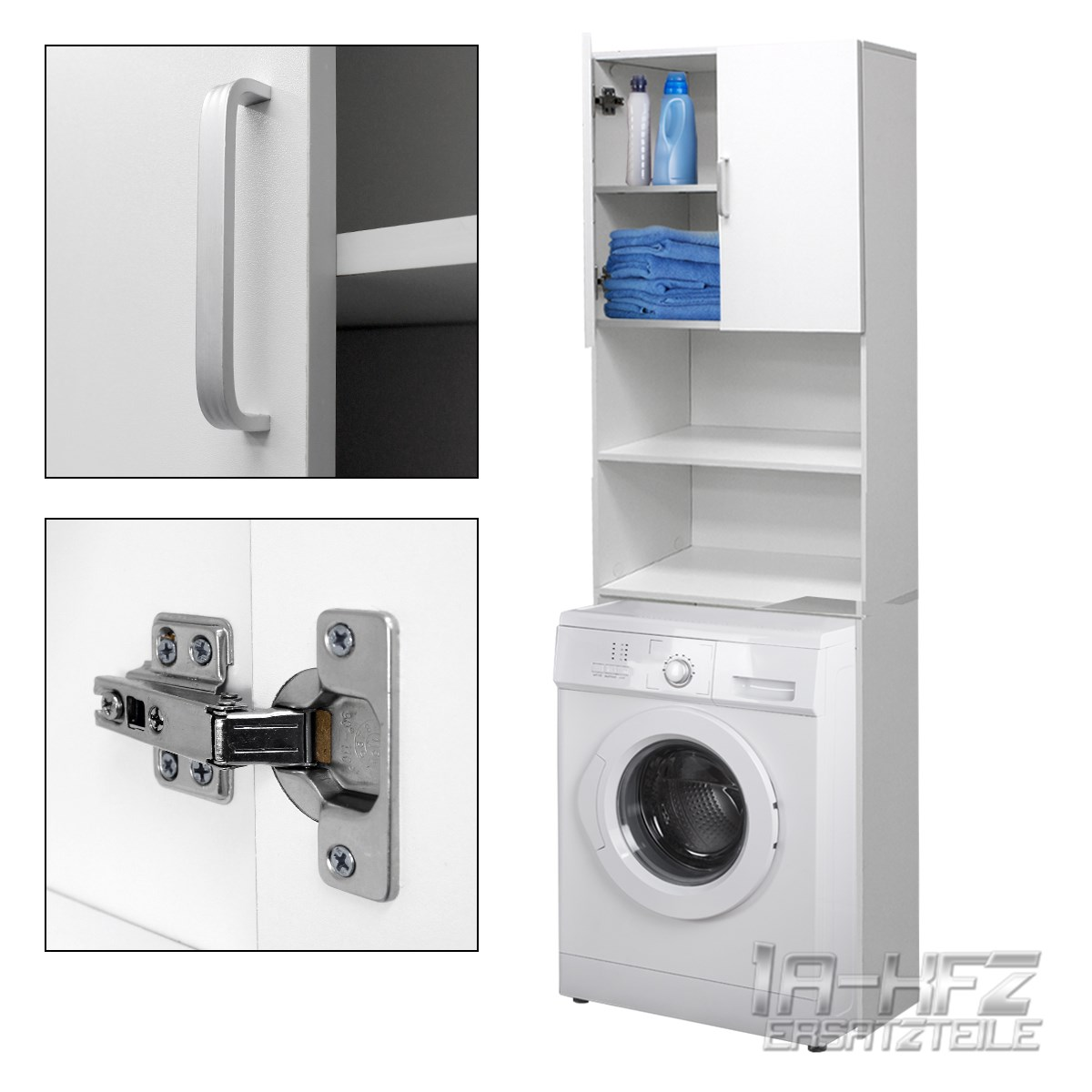 Bathroom Cupboard Shelf Storage Washing Machine Cabinet