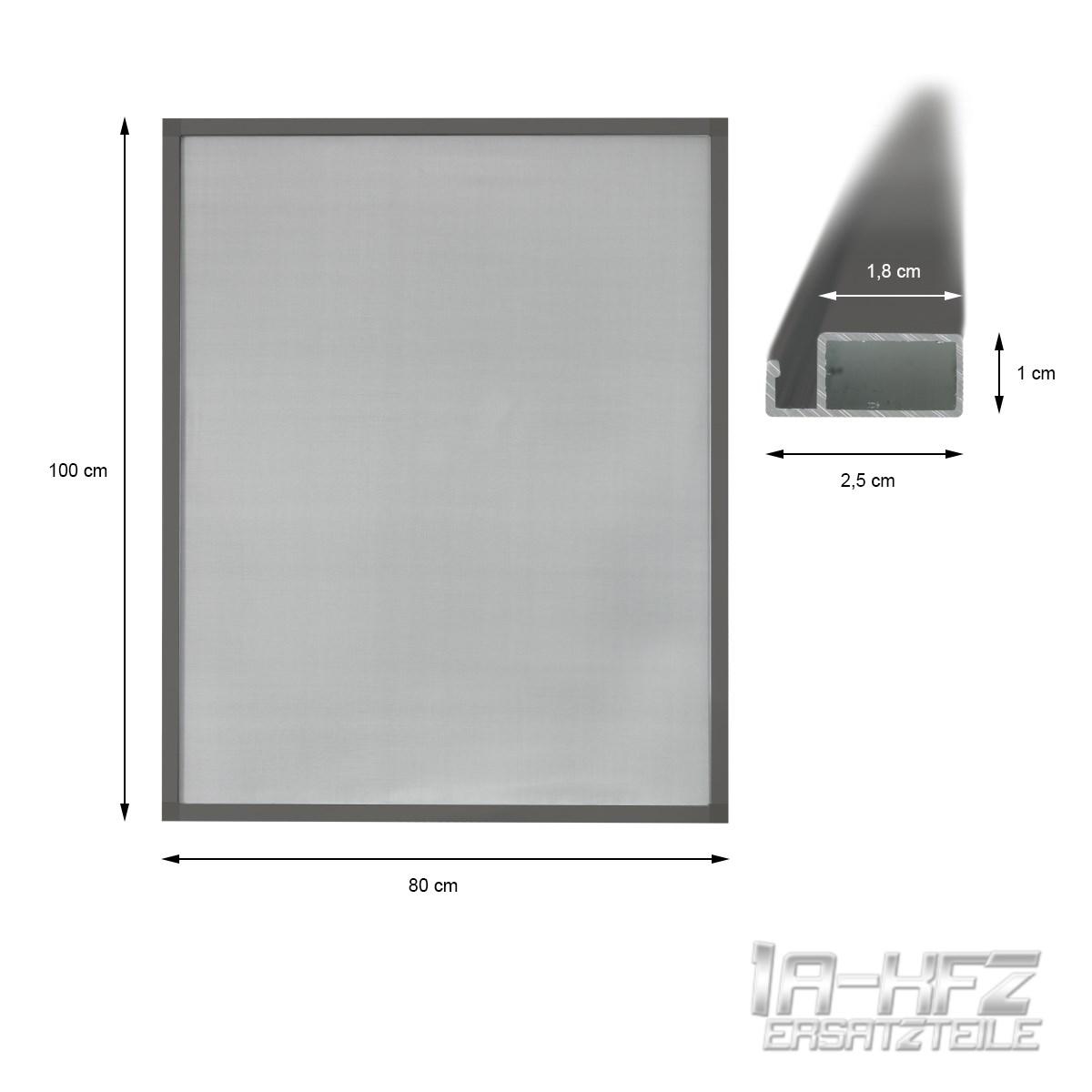 ZANZARIERA antinsetti finestra telaio in alluminio grigio grigio grigio protezione MOSCHE ZANZARE PROTEZIONE a55310