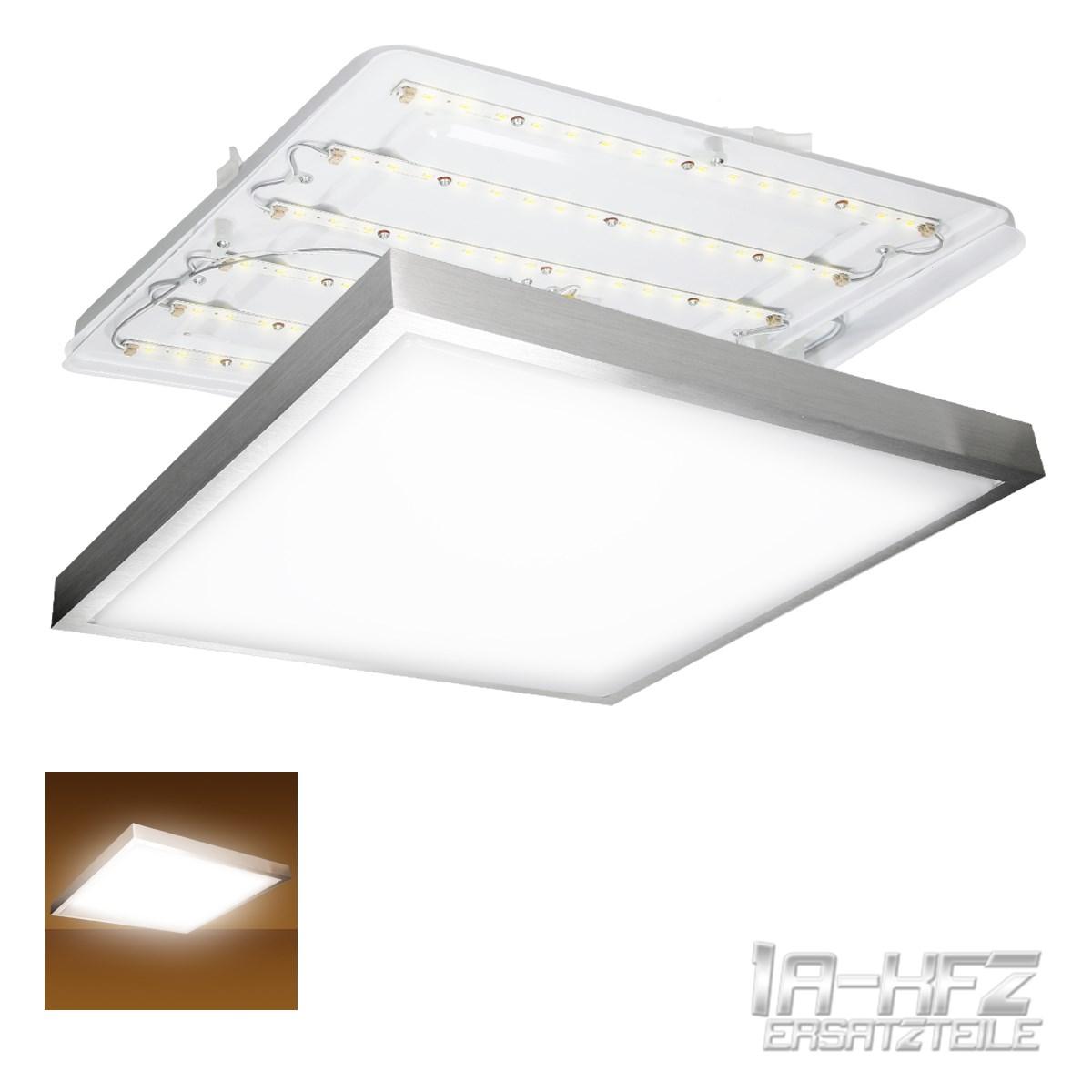 Led deckenleuchte lampe deckenlicht panel licht 36w eckig for Led deckenlicht