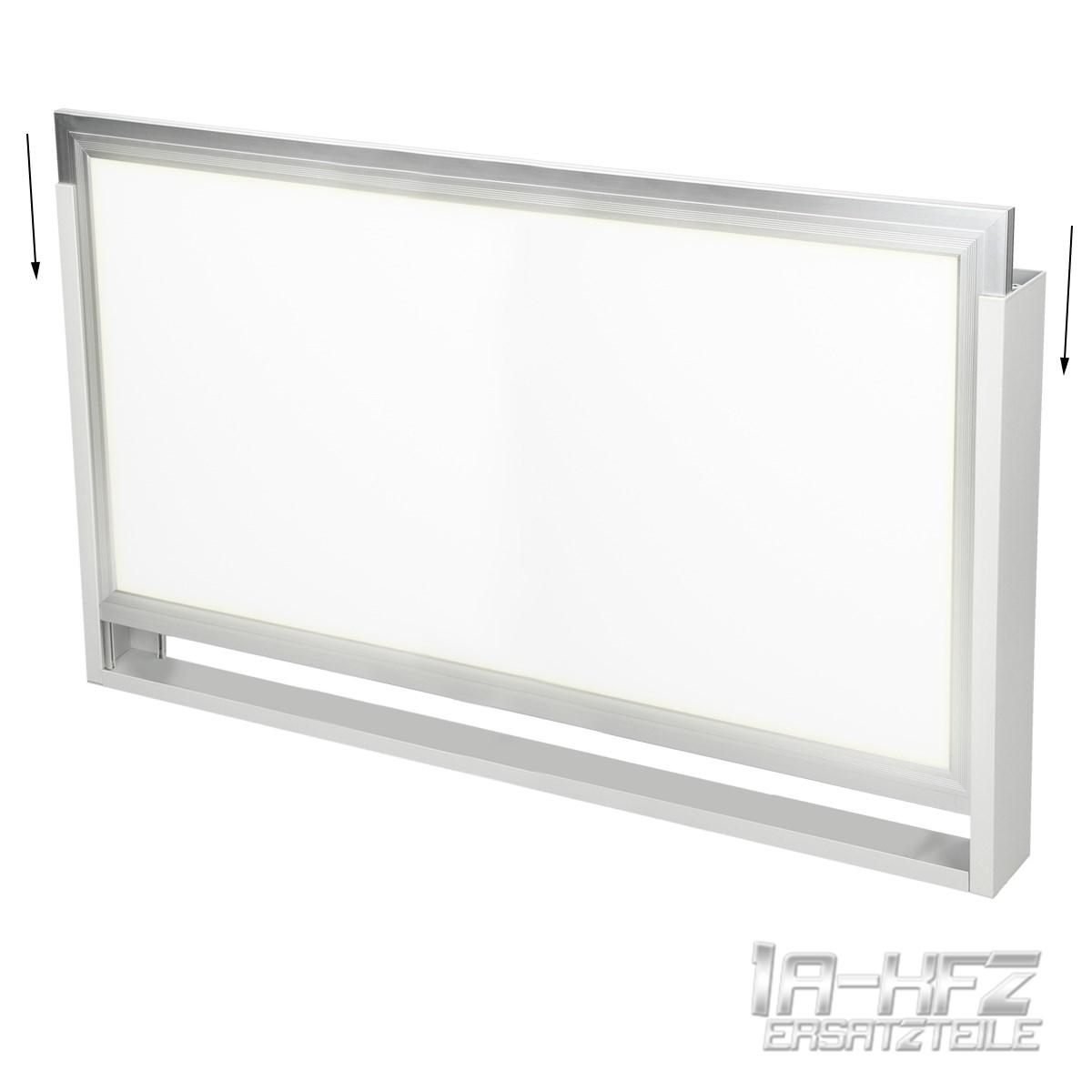 led panel rahmen deckenaufbau 60x30 cm alurahmen montageset deckenmontage wand ebay