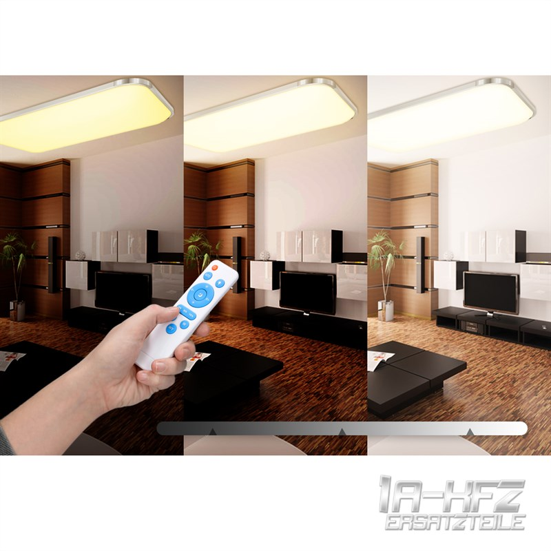 LED DECKENLEUCHTE 12W 96W DECKENLAMPE DIMMBAR WOHNZIMMER BADLEUCHTE KCHEN LAMPE