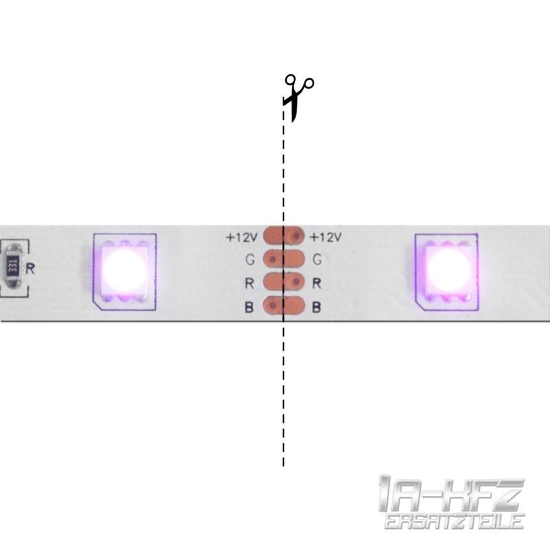10 x rgb led stripe leiste verbinder adapter. Black Bedroom Furniture Sets. Home Design Ideas
