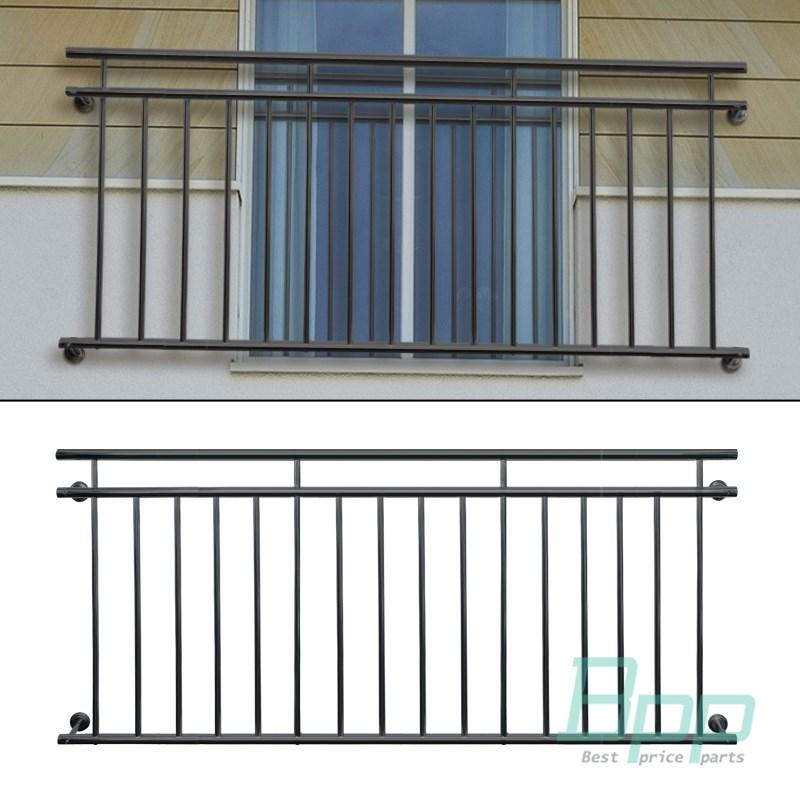 Details Zu Franzosischer Balkon Anthrazit Silber Stabgelander Balkongelander Gelander Stahl