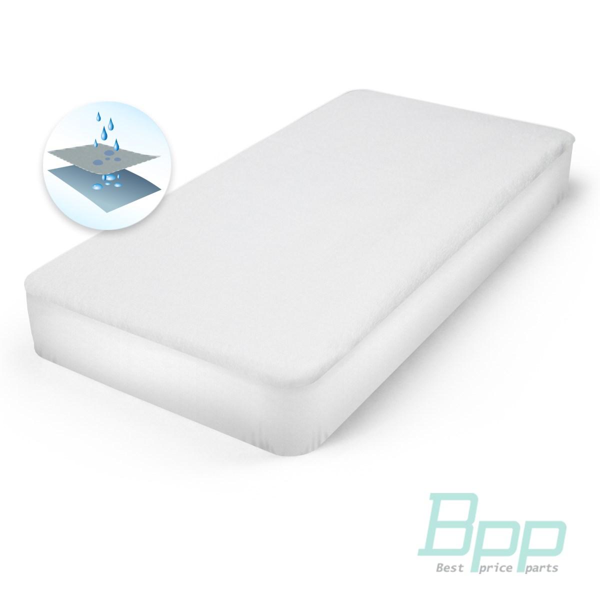 Prot ge matelas blanc 120x200x25cm imperm able l 39 eau et - Protege matelas incontinence ...
