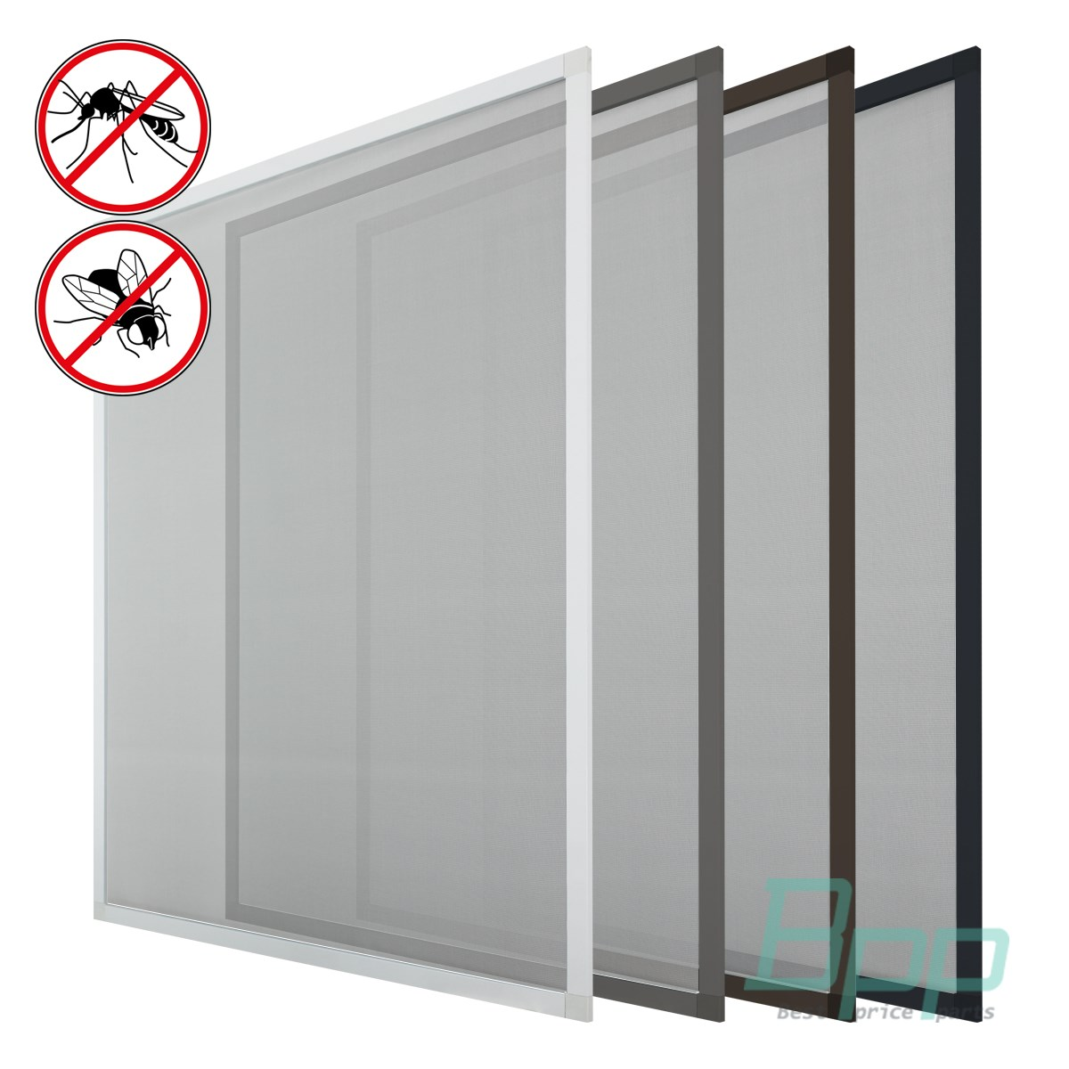 Fliegengitter Fenster Insektenschutz Fenster Alu Rahmen Mückengitter ...