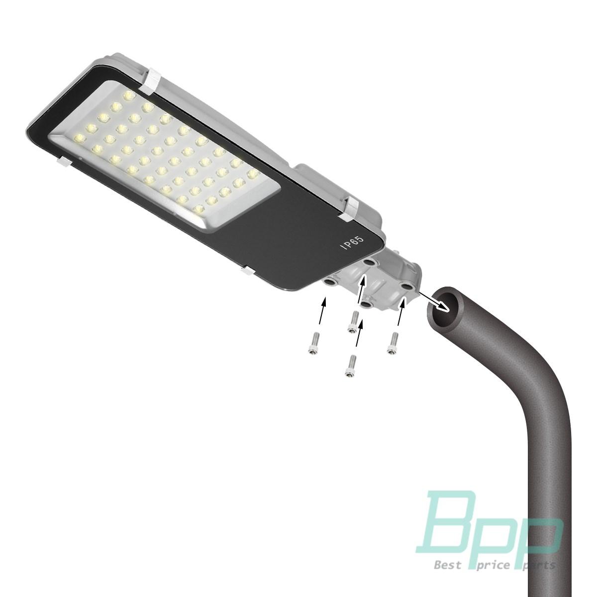 Straßenlampe Hofbeleuchtung LED Außenlaterne Laterne 12W-40W IP65 ...