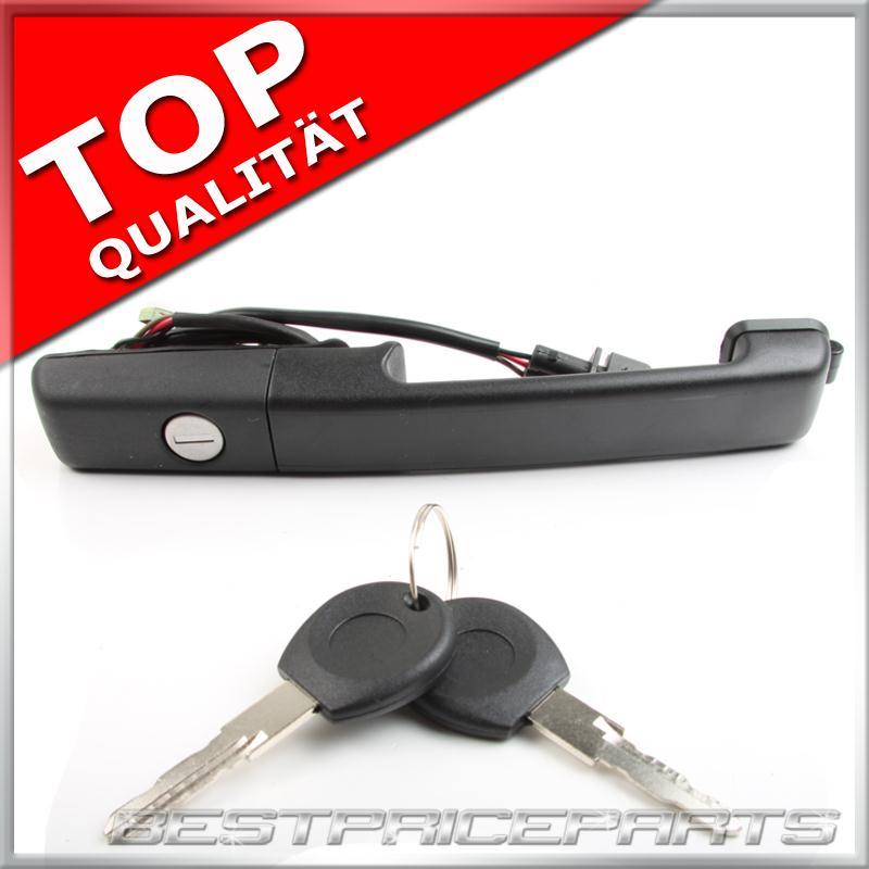 AUDI 100 Türgriff Außen Vorne Rechts 443837206C mit 2 Schlüssel