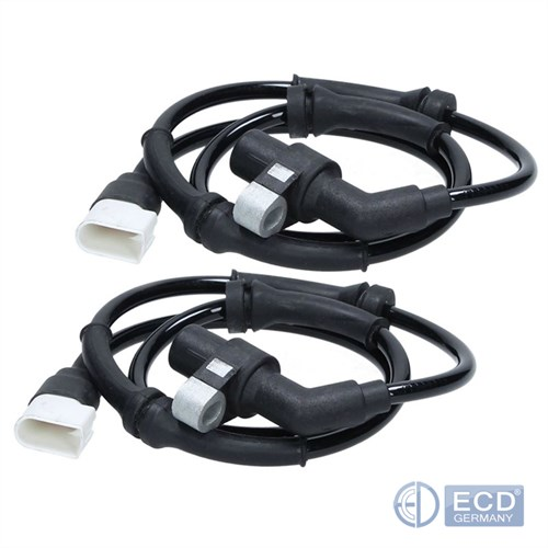 2x ABS Sensor Drehzahlfüler Raddrehzahlsensor vorne links rechts Ford Ka Street