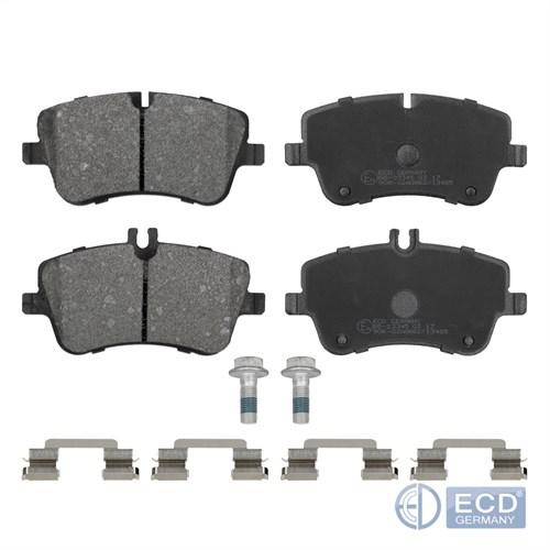Bremskloetze vorne passen an MERCEDES-BENZ C-KLASSE W203