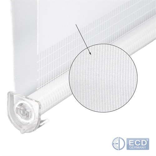 Duo Roller Zebra Shade Blackout Blinds Thermal Clamp Fix