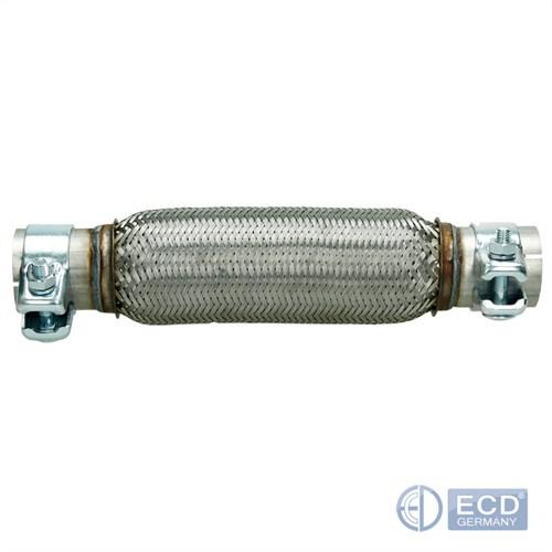 280 mm Flexibles Flexstück Auspuff Rohr Universal Flexrohr Flexteil 50 x 230