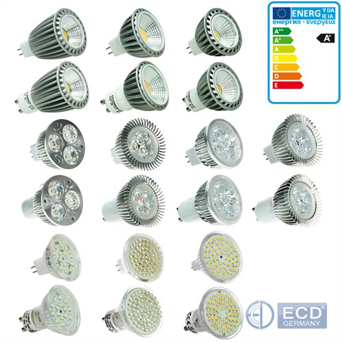 10er 3W4W5W6W7W9W LED GU10 MR16 SMD LED Lampe Birne
