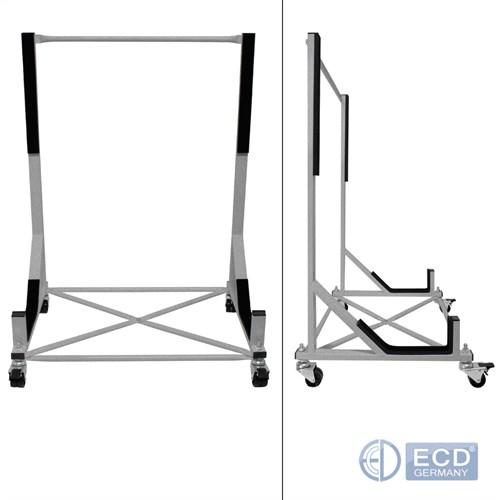 hardtop chariot support argent avec housse de protection. Black Bedroom Furniture Sets. Home Design Ideas