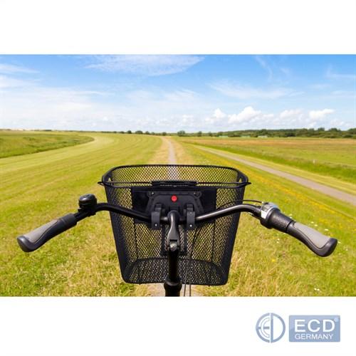 fahrradkorb einkaufskorb klicksystem vorne halter. Black Bedroom Furniture Sets. Home Design Ideas
