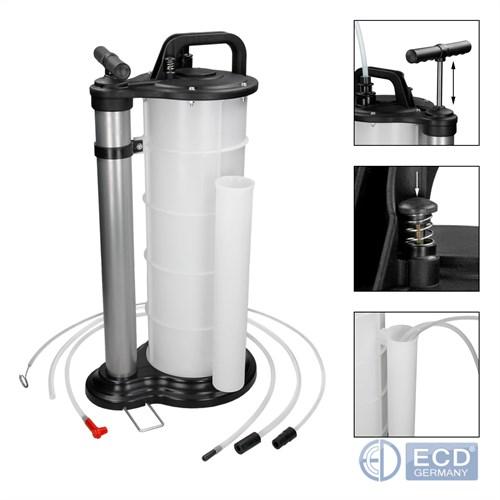 pompe d 39 aspiration de liquide vidange huile moteur pompe aspirante 9 litres neuf ebay. Black Bedroom Furniture Sets. Home Design Ideas