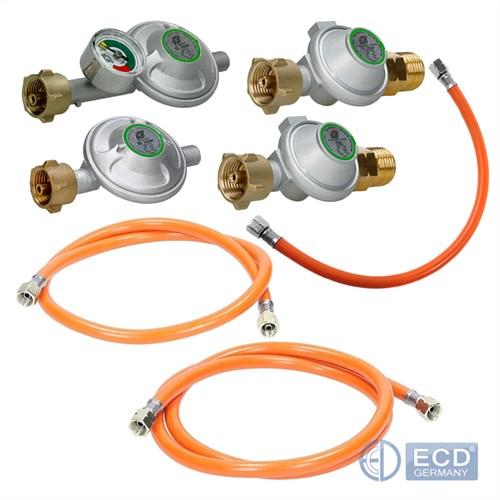 Régulateur Pressure Standard 30 ou 50mbar 40-500cm Tuyau de Gaz Propane