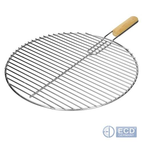 ECD Germany Grille de Barbecue en Acier Inoxydable 44,5 cm
