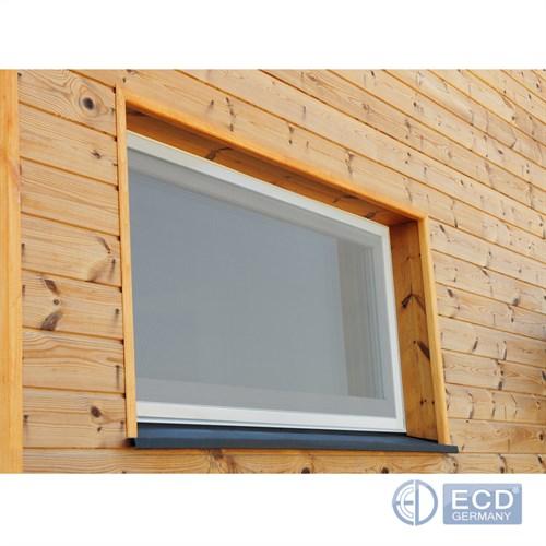 Velcro 4x Fenêtre-Moustiquaire Moustiquaire Protection Insectes 130x150cm Incl