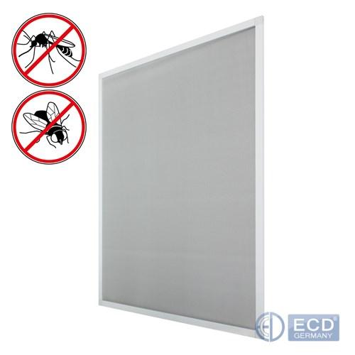 fliegengitter wei alu rahmen 80 x 100 cm m ckenschutz fenster gitter schutz ebay. Black Bedroom Furniture Sets. Home Design Ideas